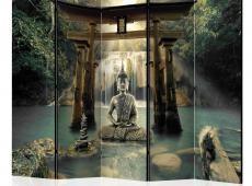 Paraván - Buddha Smile II [Room Dividers]